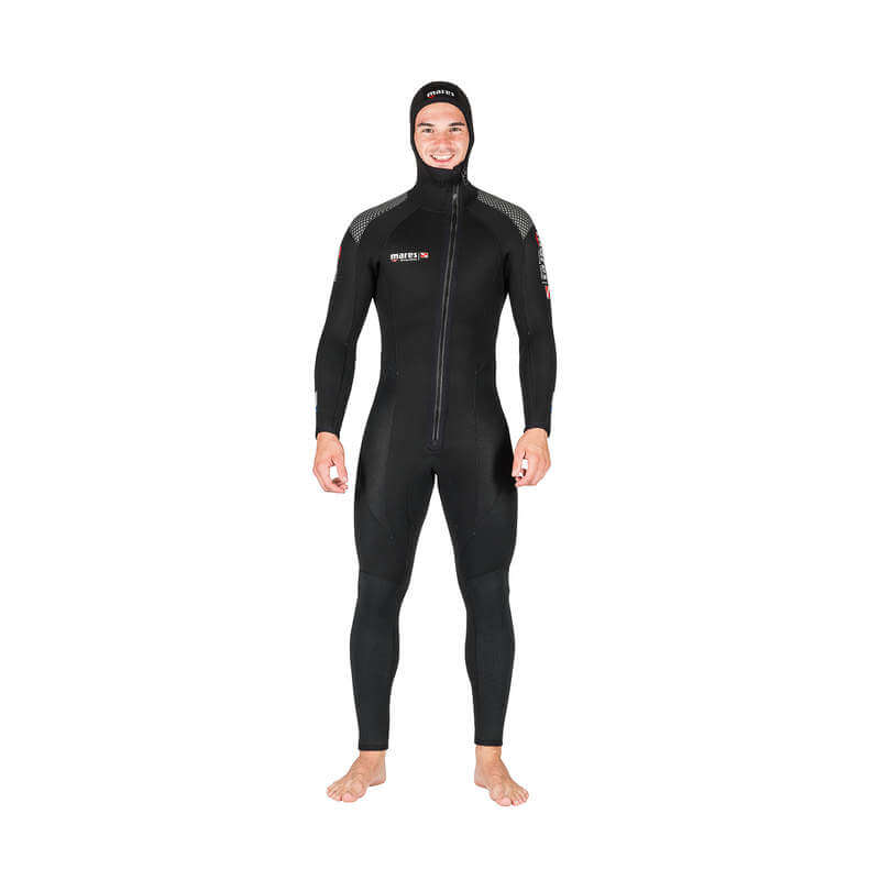 WETSUIT ROVER 5MM OVERALL WITH HOOD